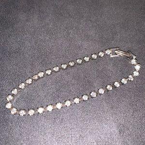 Vintage rhinestone tennis bracelet